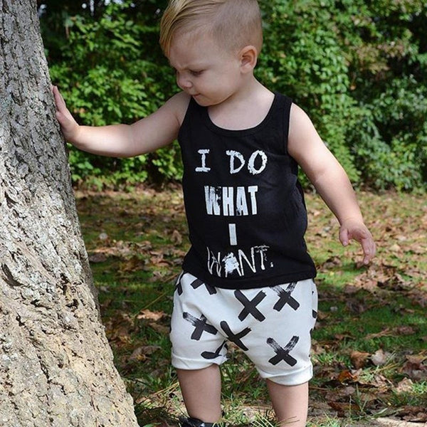 I Do What I Want Summer 2pc Outfit -  Hipster Kids Style. Youth Clothing and apparel Outfitters for hipster kids, toddlers, and babies.