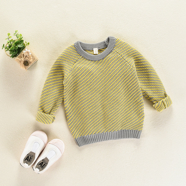 fbb8f051327c ... Custom Knit Striped Sweater - Hipster Kids Style. Youth Clothing and apparel  Outfitters for hipster