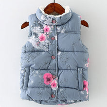 Floral Toddler Vest Jacket -  Hipster Kids Style. Youth Clothing and apparel Outfitters for hipster kids, toddlers, and babies.