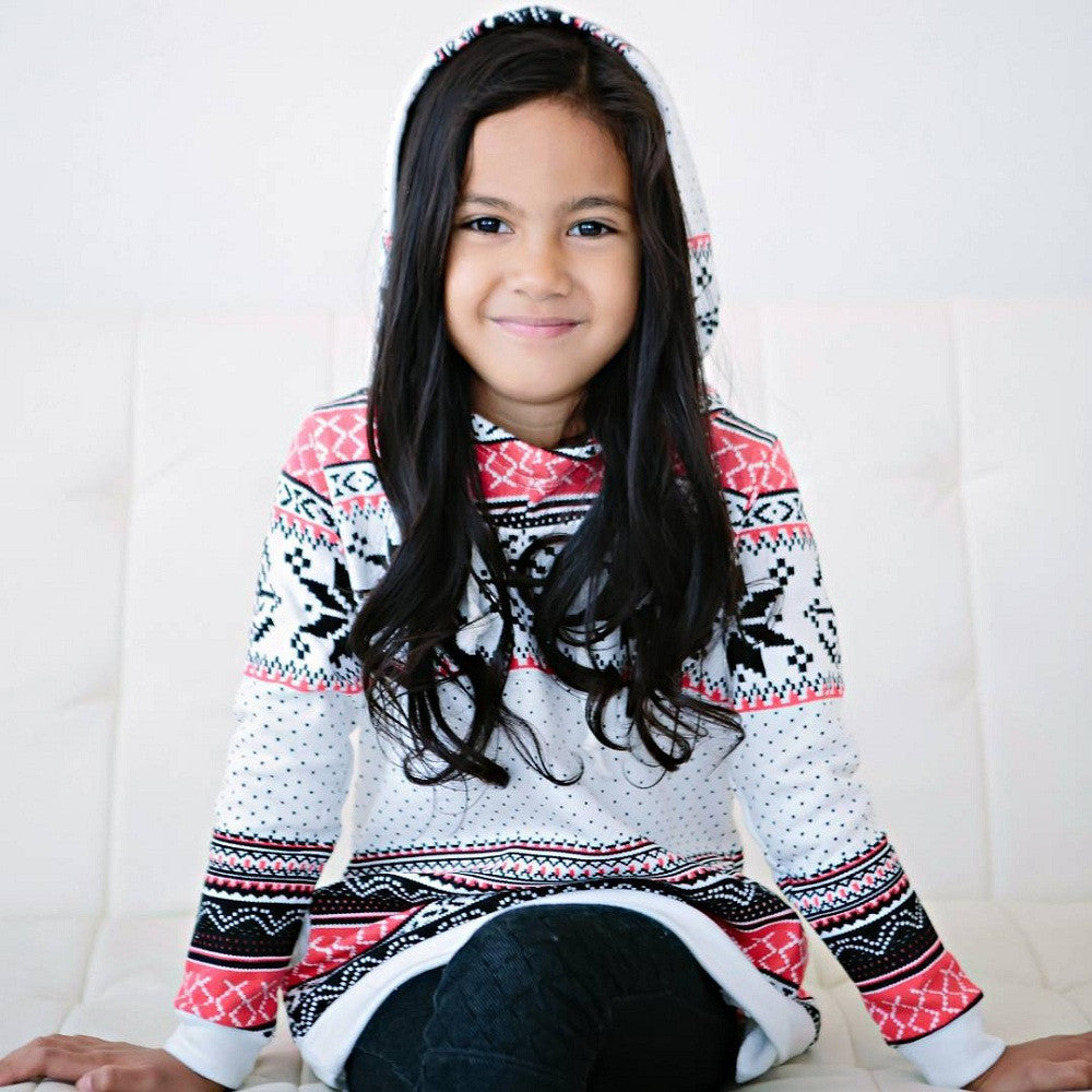 a69ba36f643b ... Winter Stripe Hoodie Sweatshirt - Hipster Kids Style. Youth Clothing  and apparel Outfitters for hipster