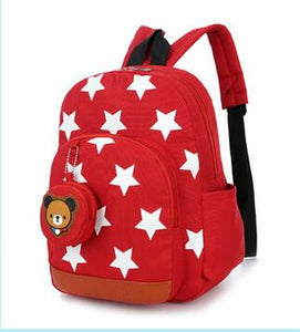 Star Pattern Backpack -  Hipster Kids Style. Youth Clothing and apparel Outfitters for hipster kids, toddlers, and babies.