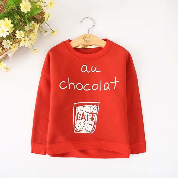 au chocolat Sweatshirt -  Hipster Kids Style. Youth Clothing and apparel Outfitters for hipster kids, toddlers, and babies.