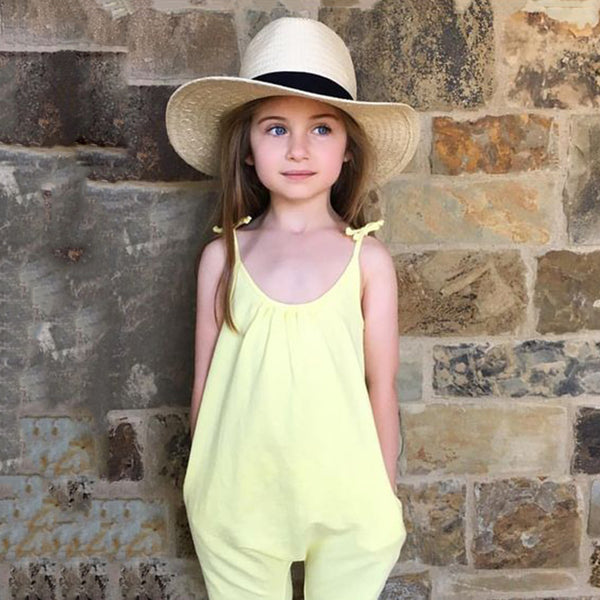 Overall Jumpsuit Summer Outfit -  Hipster Kids Style. Youth Clothing and apparel Outfitters for hipster kids, toddlers, and babies.