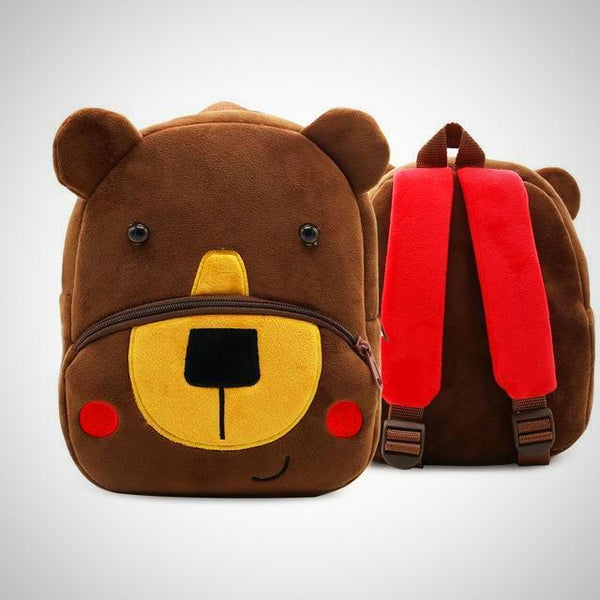 Brown Bear Toddler Animal Backpack -  Hipster Kids Style. Youth Clothing and apparel Outfitters for hipster kids, toddlers, and babies.