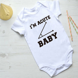 I'm Acute Baby Onesie -  Hipster Kids Style. Youth Clothing and apparel Outfitters for hipster kids, toddlers, and babies.