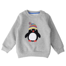 Winter  Penguin Pullover Sweatshirt -  Hipster Kids Style. Youth Clothing and apparel Outfitters for hipster kids, toddlers, and babies.