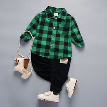 Green Sailor Button Down with Khakis 2pc Outfit -  Hipster Kids Style. Youth Clothing and apparel Outfitters for hipster kids, toddlers, and babies.