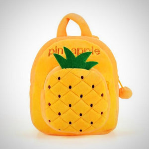 Yellow Pineapple Toddler Fruit Backpack -  Hipster Kids Style. Youth Clothing and apparel Outfitters for hipster kids, toddlers, and babies.