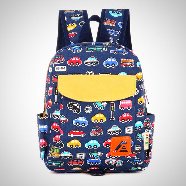 Traffic Jam Kindergarten Backpack -  Hipster Kids Style. Youth Clothing and apparel Outfitters for hipster kids, toddlers, and babies.