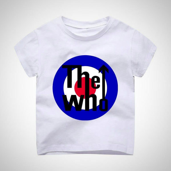 The Who Vintage T-Shirt -  Hipster Kids Style. Youth Clothing and apparel Outfitters for hipster kids, toddlers, and babies.