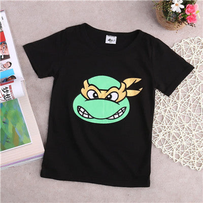 TMNT Cartoon T-Shirt -  Hipster Kids Style. Youth Clothing and apparel Outfitters for hipster kids, toddlers, and babies.