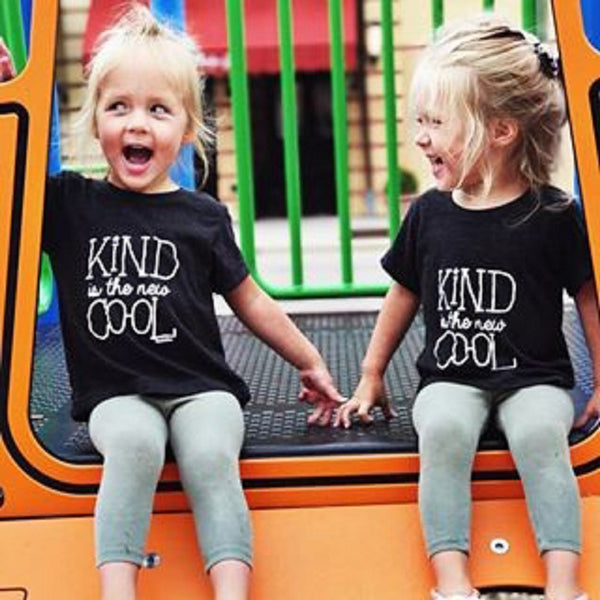 Kind is the new Cool T-Shirt -  Hipster Kids Style. Youth Clothing and apparel Outfitters for hipster kids, toddlers, and babies.