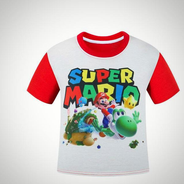 Super Mario Bros T-Shirt -  Hipster Kids Style. Youth Clothing and apparel Outfitters for hipster kids, toddlers, and babies.