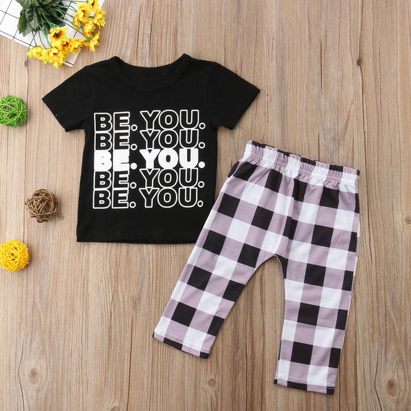 Be You 2pc Outfit -  Hipster Kids Style. Youth Clothing and apparel Outfitters for hipster kids, toddlers, and babies.