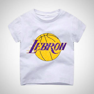 Lebron Lakers Logo T-Shirt - Hipster Kids Style. Youth Clothing and apparel  Outfitters e7f2d9801