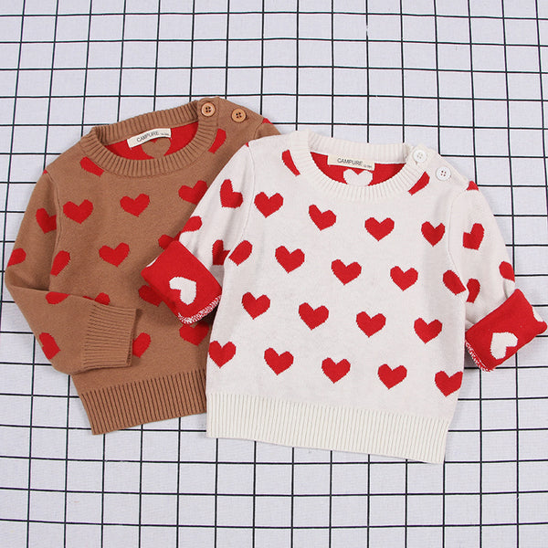 Be My Valentine Heart Sweater -  Hipster Kids Style. Youth Clothing and apparel Outfitters for hipster kids, toddlers, and babies.