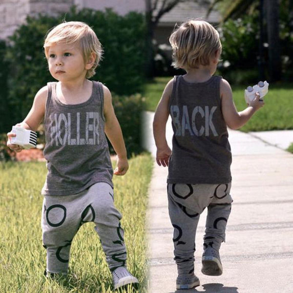 Holler Back 2pc Outfit -  Hipster Kids Style. Youth Clothing and apparel Outfitters for hipster kids, toddlers, and babies.