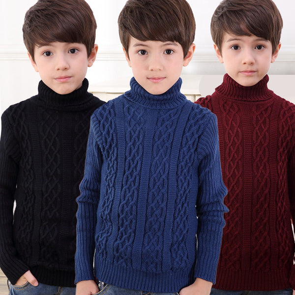 Knit Turtleneck Sweater -  Hipster Kids Style. Youth Clothing and apparel Outfitters for hipster kids, toddlers, and babies.