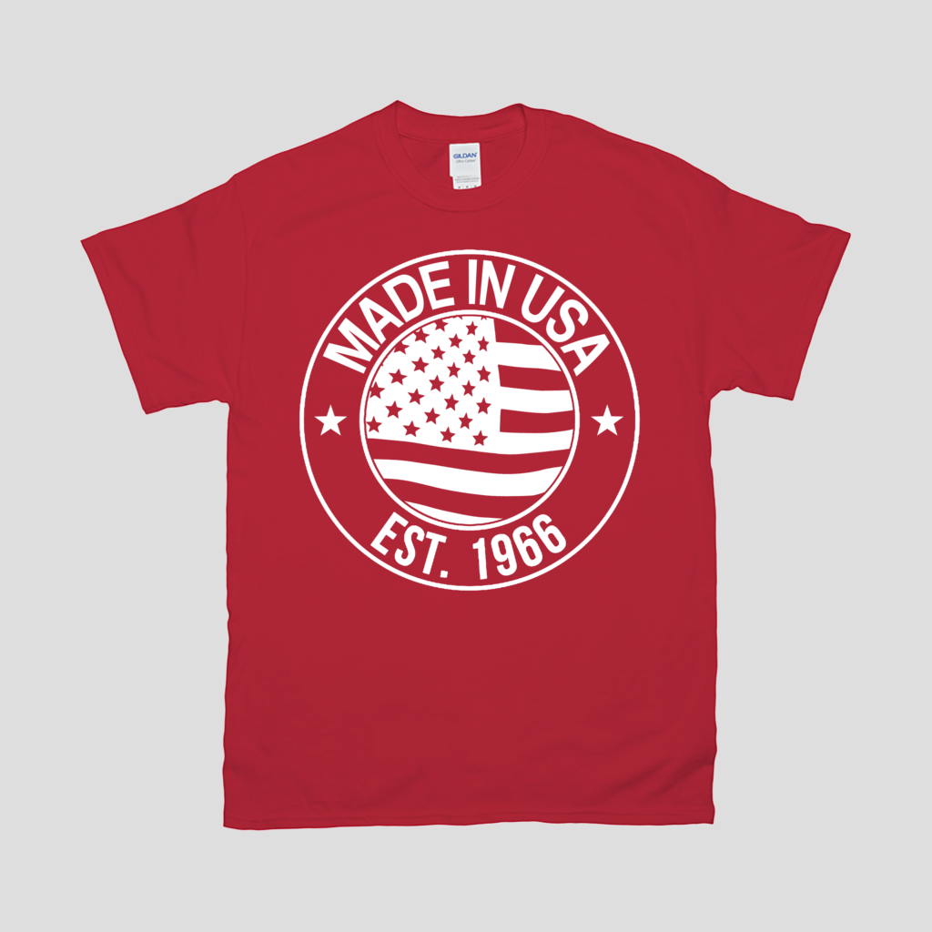 Made in U.S.A. T-Shirts-Red