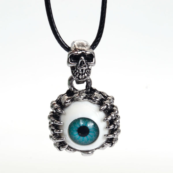 Evil Eye skull Necklace