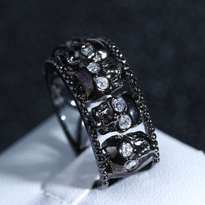 Creative Hell Skull Ring