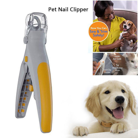 Illuminated Pet Nail Trimmer for Dogs and Cats by Peti Care