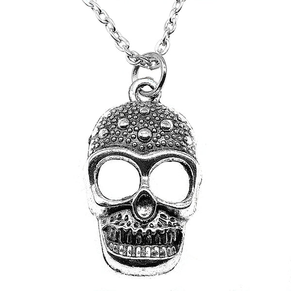 Antique Skull Pendant Necklace for Women