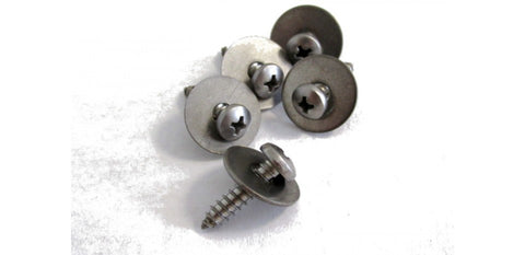 10 x SELF TAPPING SCREWS