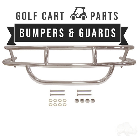 Golf Cart Brush Guards and Bumpers