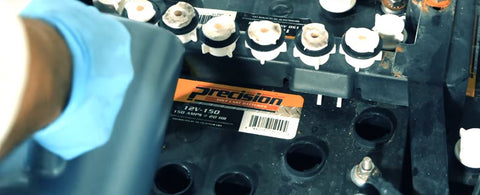 Adding Water to Golf Car Battery