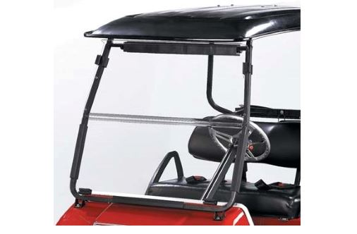 ClubCar with aftermarket windshield