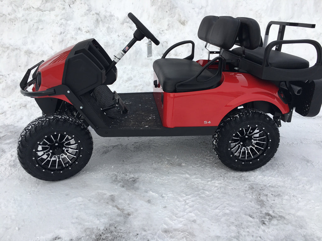 EZGO Express S4 in Inferno Red