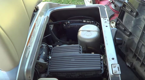 Yamaha Airbox with filter