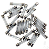15A Tube Fuse (BAG of 25) Pile | Cart Parts Direct