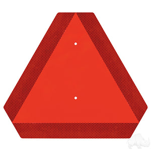 Orange Reflective Slow Moving Vehicle Triangle | Cart Parts Direct