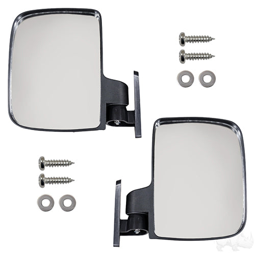 UTV Style Top Strut Mount Mirror (SET of 2) | Cart Parts Direct
