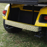Diamond Plate Rear Bumper Cover Installed | Cart Parts Direct