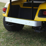 Stainless Steel Rear Bumper Cover Installed | Cart Parts Direct