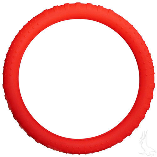 Red Rubber Steering Wheel Cover | Cart Parts Direct