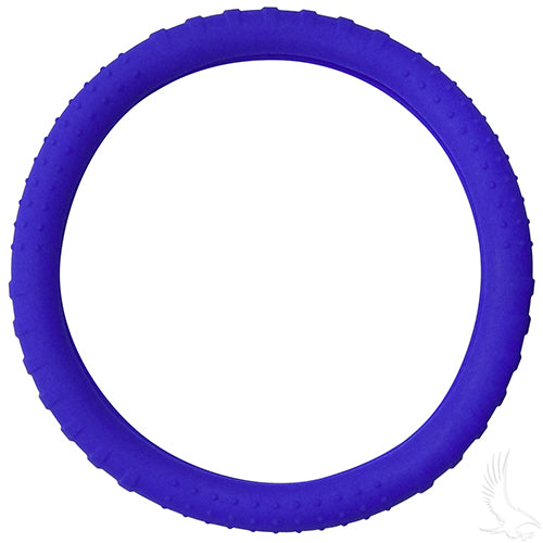 Blue Rubber Steering Wheel Cover | Cart Parts Direct
