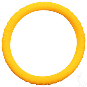Yellow Rubber Steering Wheel Cover | Cart Parts Direct