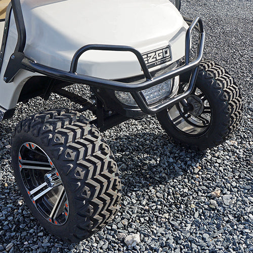 RHOX Black Steel Front Brush Guard | Cart Parts Direct