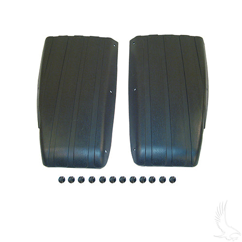Black Scuff Guard w/ Rivets (SET of 2) | Cart Parts Direct