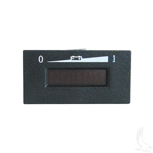 48V Horizontal Digital Charge Meter | Cart Parts Direct