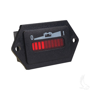 48V Charge Meter w/ Tabs | Cart Parts Direct