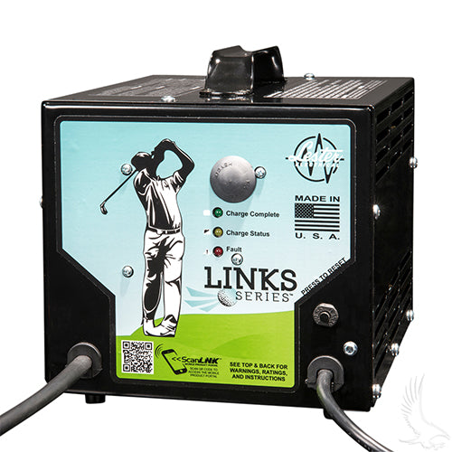 Lester 48V/13A Link Series Battery Charger | Cart Parts Direct