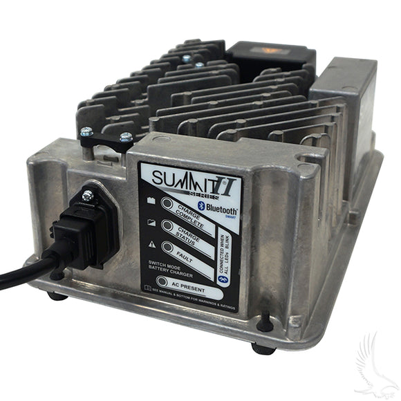 48V/13A Lester Summit Series High Frequency Battery Charger | Cart Parts Direct