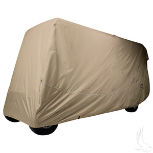 "Storage Cover for 6 Passenger Carts w/ up to 119"" Tops 