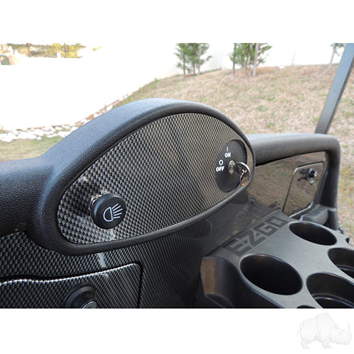 Carbon Fiber Dash Cover Plate | Cart Parts Direct