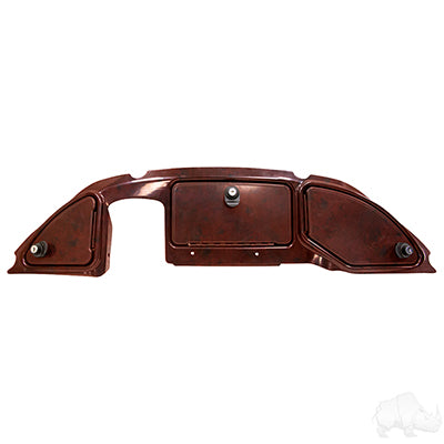 Dark Woodgrain Three Door Dash | Cart Parts Direct